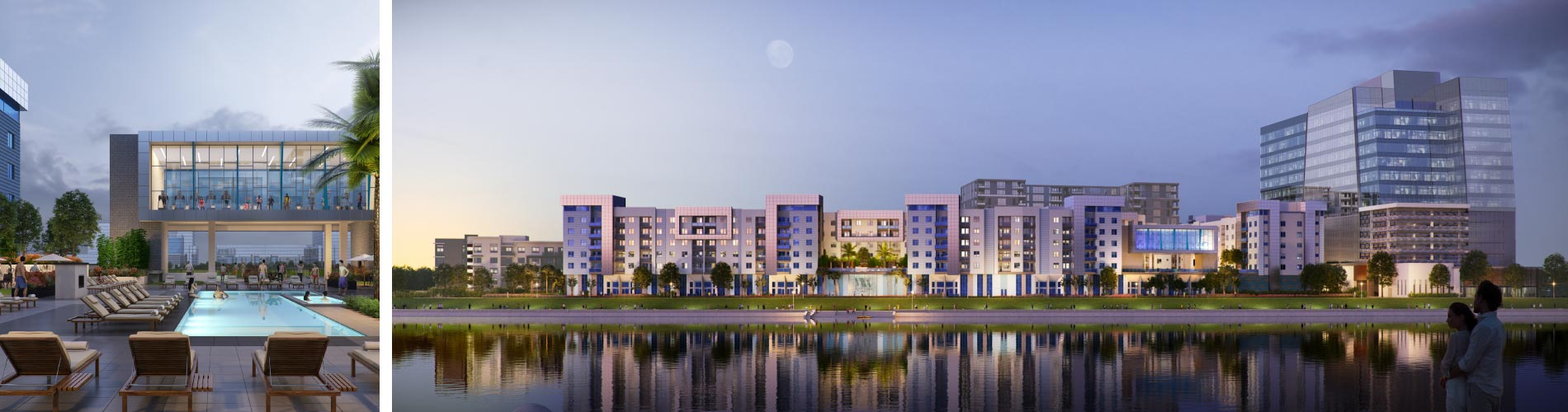 Trinsic Residential Group   Aura Watermark Apartments